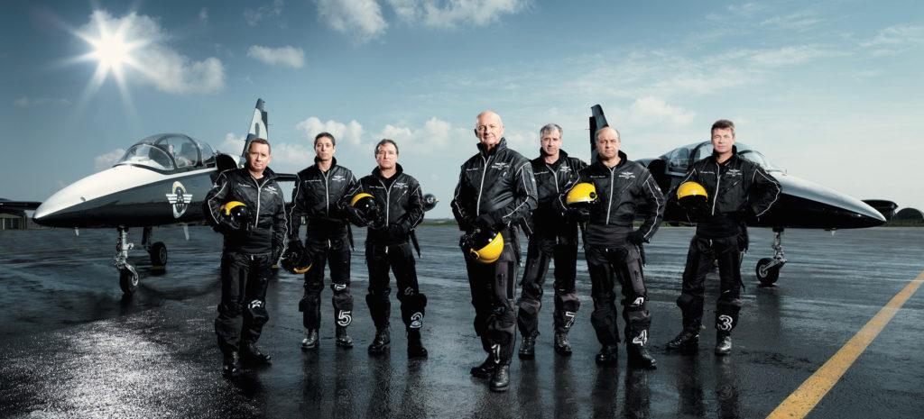Team Jet Formation Flight
